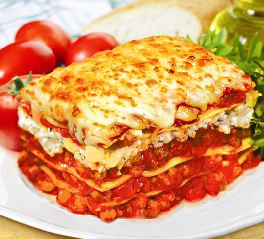 Western Sweet Dishes Recipes: Western Food Recipe: Sausage Lasagna