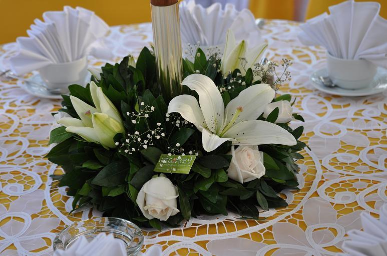Nuestros Eventos Bautizo Bebé Valeria Idea Floral