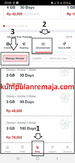 Cara Membeli Paket Disney+ Hotstar via Aplikasi MyTelkomsel