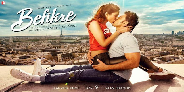 Watch Befikre 2016 Hindi Full Movie DVDScr Download Online