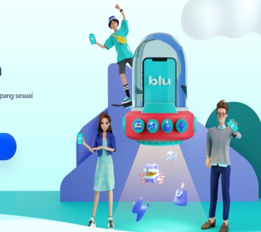 Review Aplikasi blu dari Bank BCA Digital