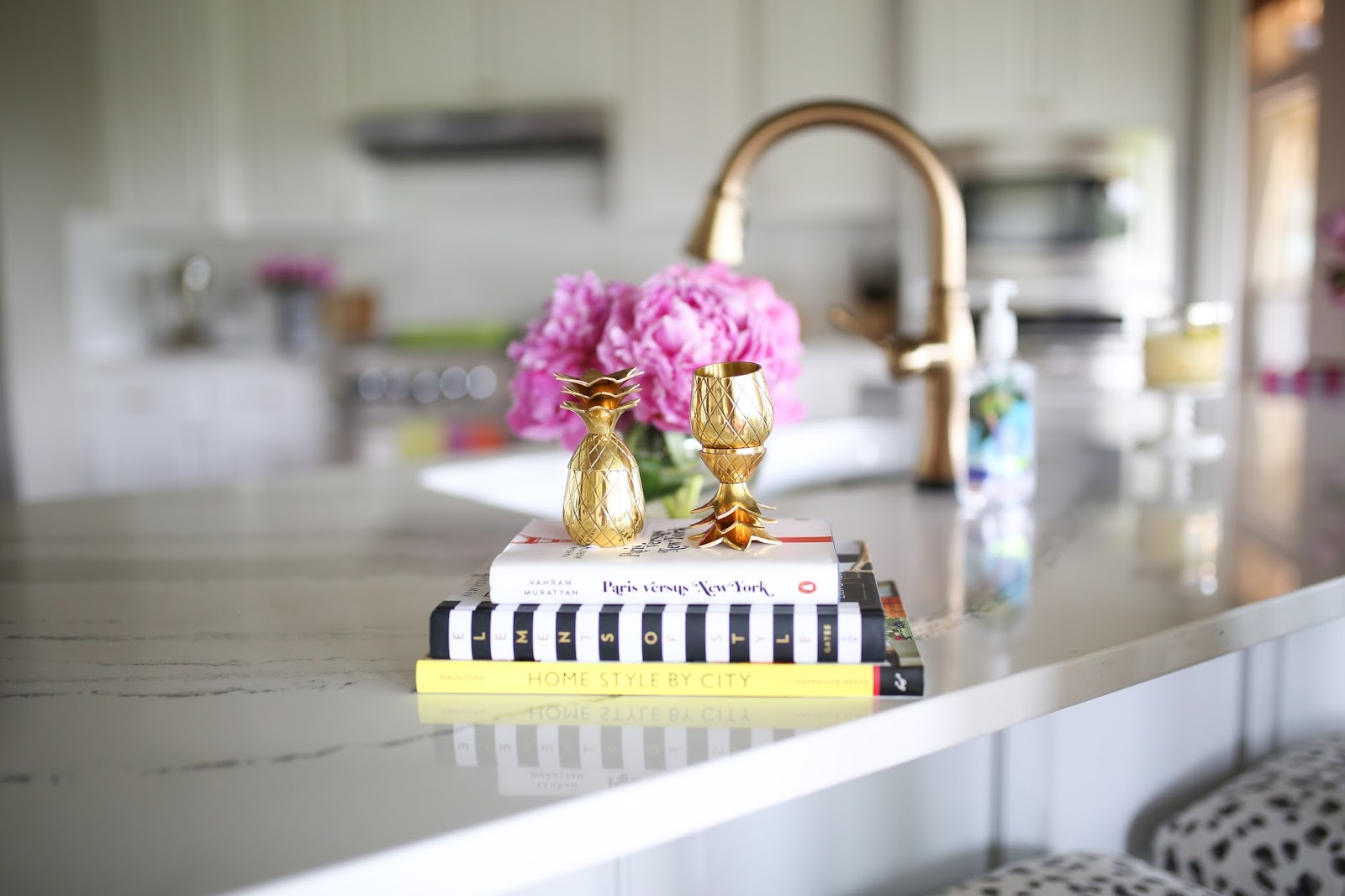 emily gemma, emily gemma blog, the sweetest thing blog, all white kitchen, gold kitchen faucet, cute ice cubes, summer, fun summer ideas, pretty kitchen, beautiful faucet, cactus, cactus ice cubes, white kitchen sink, party ideas, cambria brittanica countertops, painters, golden doodle, cactus party lights, peonies, pink peonies, pineapple, pineapple decor, pink ice cube tray, green ice cube tray, party ideas, kid activities, home decor, white kitchen
