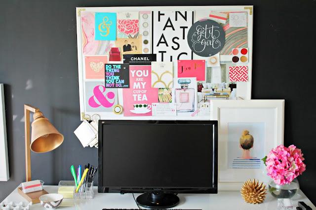 Vision board moodboard