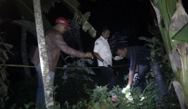 Kondisi mayat korban, petugas olah TKP, dan pelaku