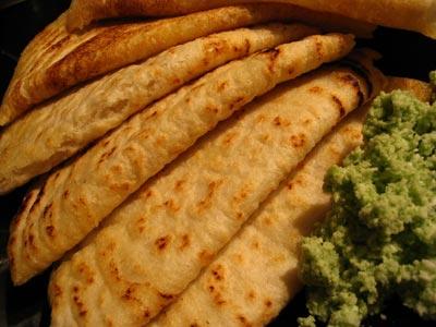 Savory Rice and Urad Dal Pancakes (Dosas)