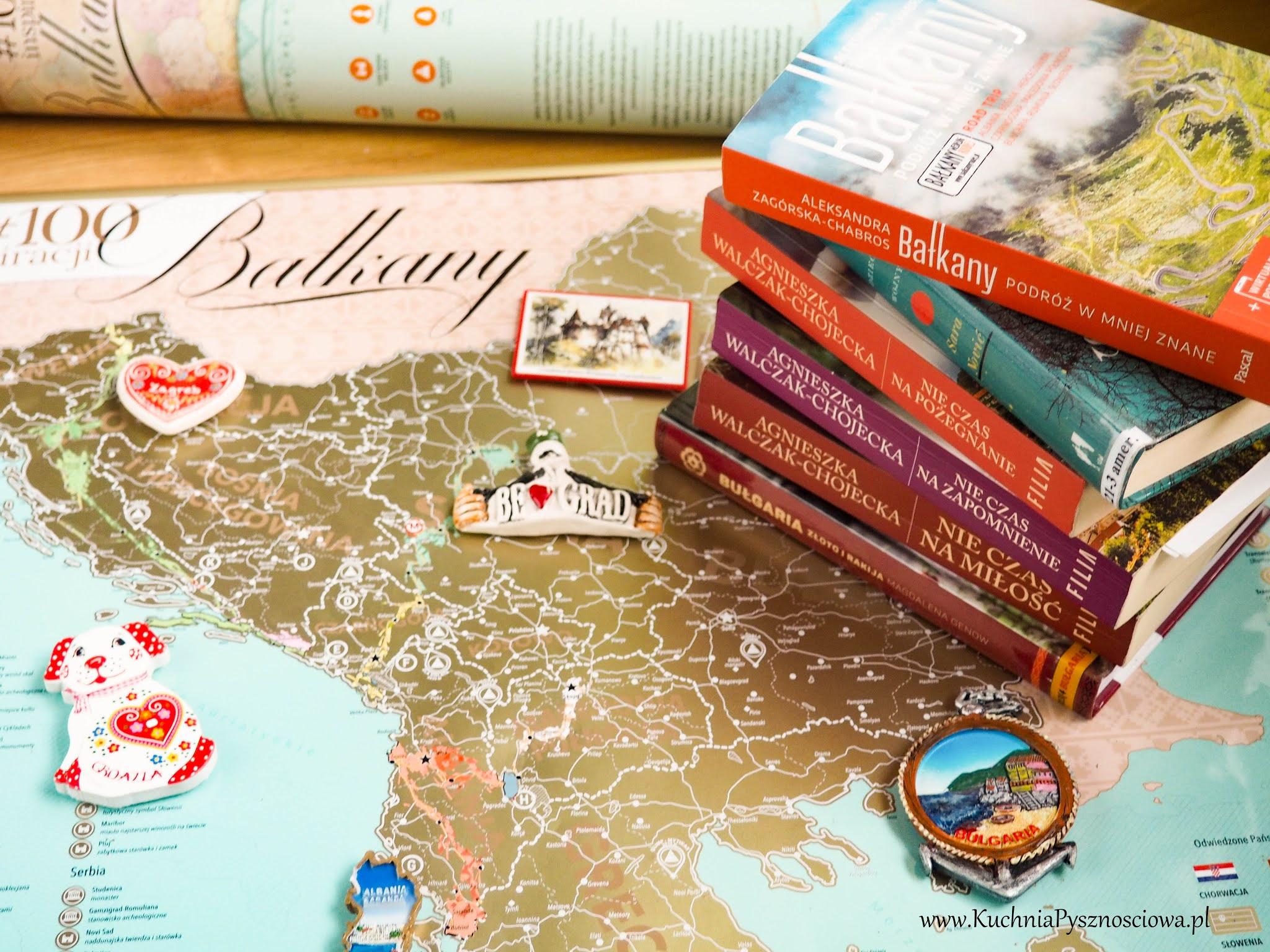 Książki o Bałkanach i prezent dla podróżników