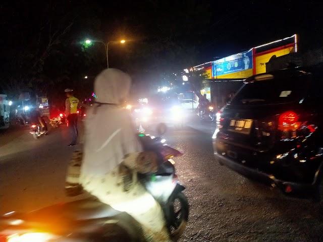 Malam Lebaran, Pusat Perkotaan di Kota Langsa Padat