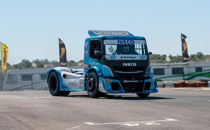 Motor Cursor 13, da FPT Industrial, acelera a Copa Truck em Cascavel (PR)