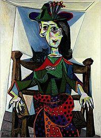"""Dora Maar with Cat"", Pablo Picasso"