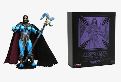 Hot Topic Exclusive Masters of the Universe Glow in the Dark Edition Skeletor 1/6 Scale Figure by Mondo