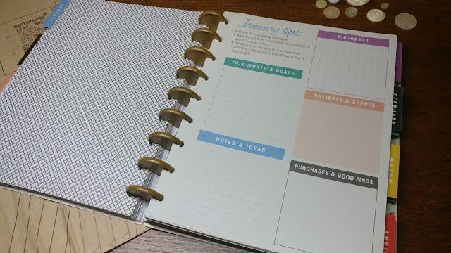 Simplicity Vintage Sewing Planner