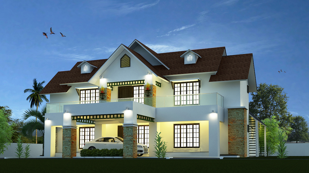 2500 square feet 4 bedroom contemporary Mixed home