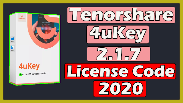 Tenorshare 4uKey 2.1.7.8 Latest With Registration Code 2020