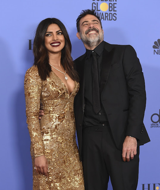 Priyanka Chopra Hot at Golden Globe Awards