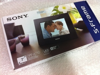 [SOLD] SONY Digital Photo Frame DPF-A710 - $65