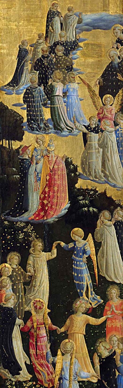Bem-aventurados, Fra Angelico, Berlin (1395 – 1455)