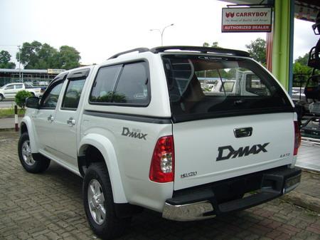 JRJ 4x4 ACCESSORIES SDN BHD : Isuzu Dmax - Canopy - Carryboy