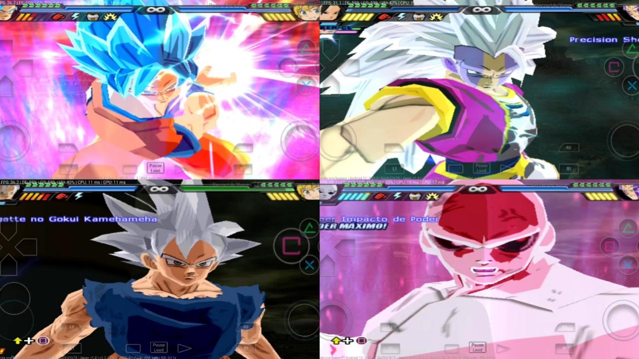Dragon Ball Super Budokai Tenkaichi 3 MOD PS2 ISO
