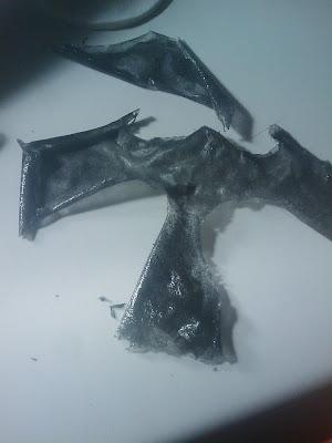 restos de mascarilla