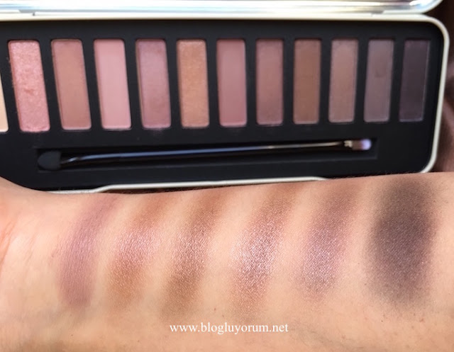 w7 in the nude colour me nude eye colours palette ikinci 6lı swatch