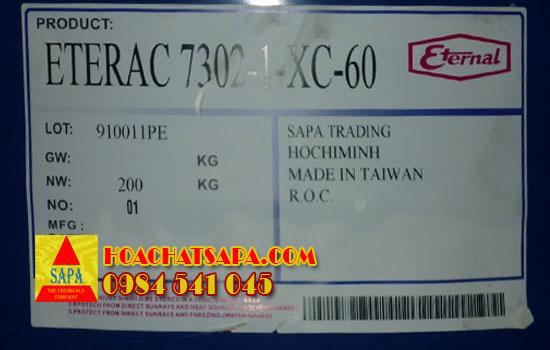 Hóa Chất SAPA | Eterac 7302-1-xc-60 Acrylic resin