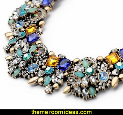 Jewelry Vintage Grand Choker Rhinestones Fashion Necklace