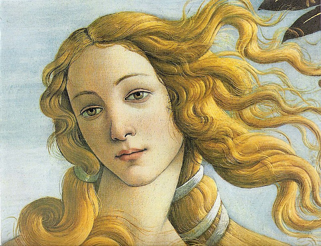 Sandro Botticelli Birth of Venus Detail