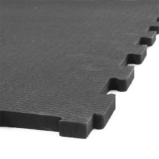 Greatmats shoklok interlocking rubber tile