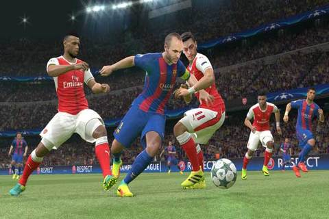Download gAme PES 2017 for Android apk data