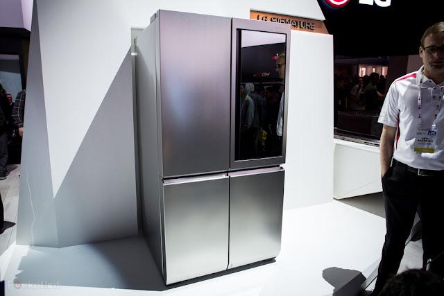 Tủ lạnh LG Signature : Ai nghĩ năm 2016 sẽ là năm của tủ lạnh?