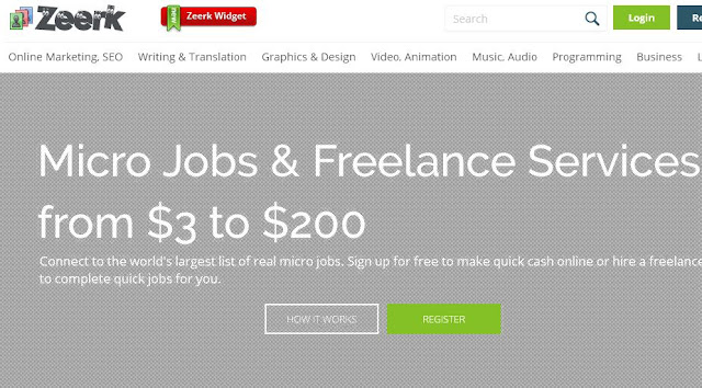 How to Make a Zeerk Freelancing Account and make money online
