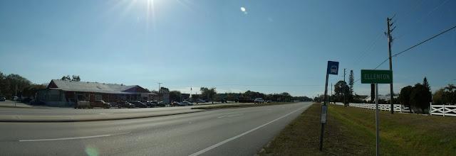 Al entrar en Ellenton por la US 301
