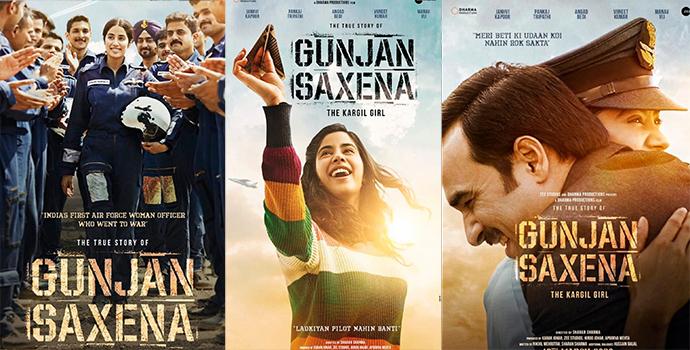 Gunjan Saxena 2020 Hindi Movie Songs Lyrics and Video | Janhvi Kapoor, Pankaj Tripathi, Angad Bedi, Vineet Kumar Singh, Ayesha Raza