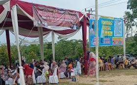 Masyarakat Desa Suak Putat Antusias ikuti Vaksinasi Masal di Balai Desa
