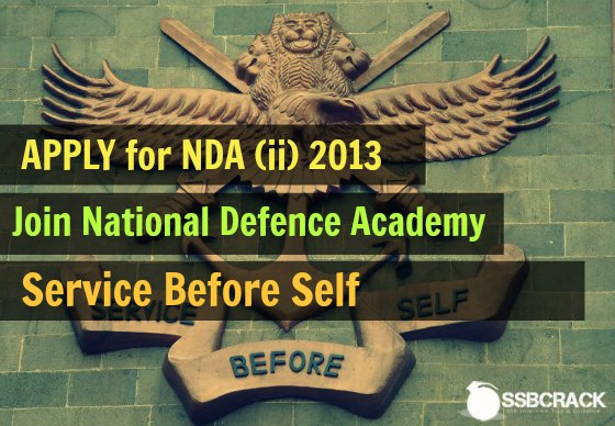 NDA and NA II 2013 Notification 2013 2014