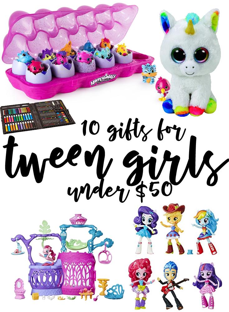 10 Great Gifts For Tween Girls Under 50