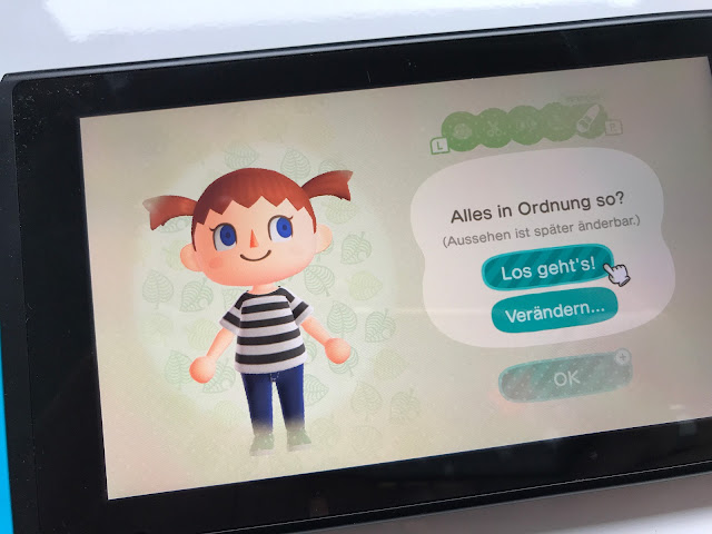Animal Crossing: New Horizons - das bin ich ^^