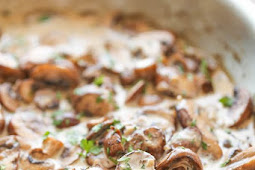 Easy Creamy Mushrooms