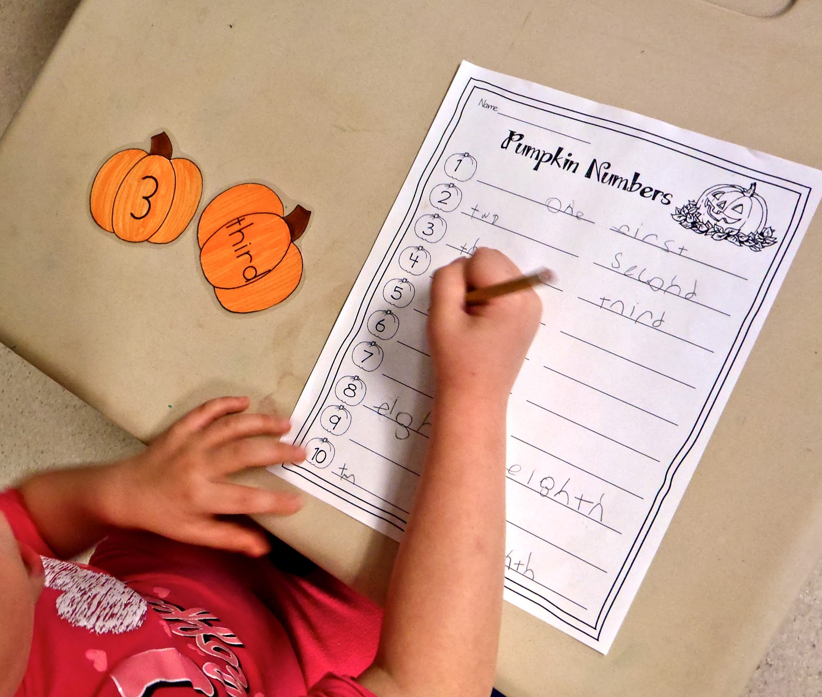 Fun With Firsties Pumpkin Party