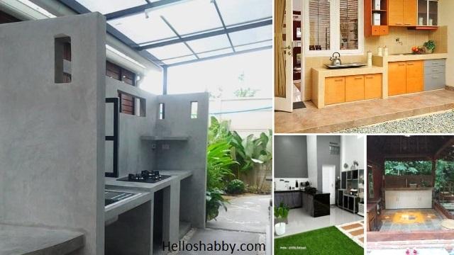 7 Desain Dapur Outdoor Minimalis Yang Dapat Diterapkan Di Rumah Type 36 Helloshabby Com Interior And Exterior Solutions