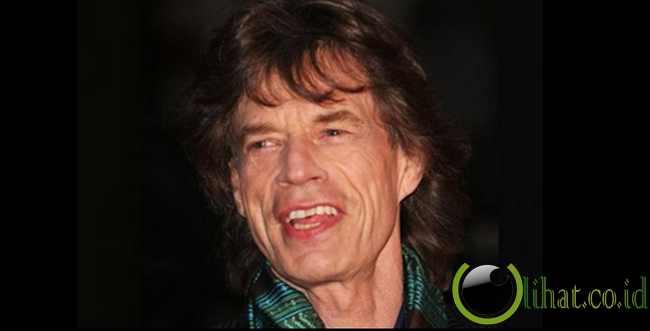 Potongan Rambut Mick Jagger