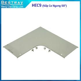 Bestray | Máng Cáp Dạng Lưới | Co, Tê | Nắp Co Ngang 90 Độ (HEC9)