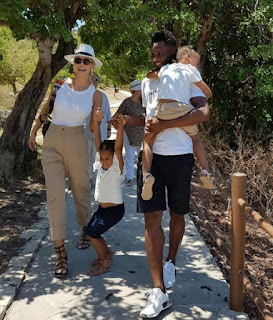 Mikel Obi And His Beautiful Family Enjoy A Stroll Together [Photos]