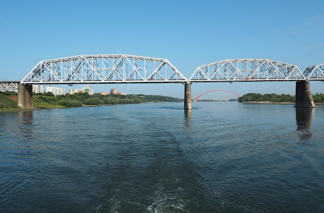 Новосибирск, второй железнодорожный мост (Novosibirsk, the second railway bridge)
