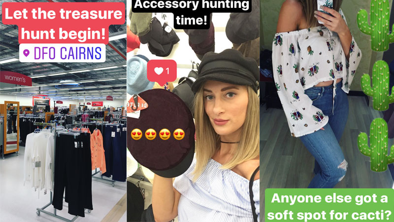 tk maxx cairns outfit hunting challenge