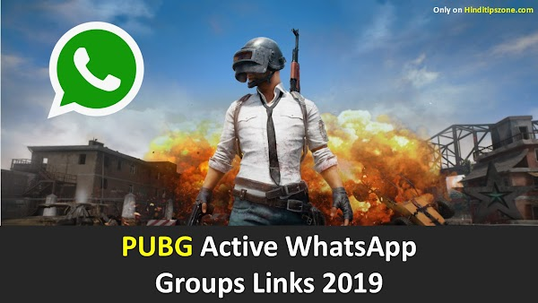 {*Latest*) PUBG Active WhatsApp Groups Links 2019