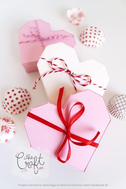 origami heart gift box