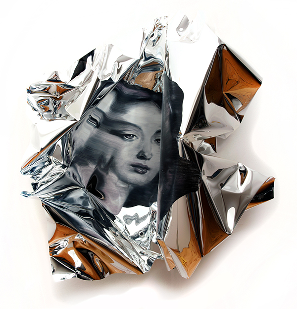 11-Martin-C-Herbst-Oil-Painting-on-Folded-Mirror-Polished-Aluminium-Foil-www-designstack-co