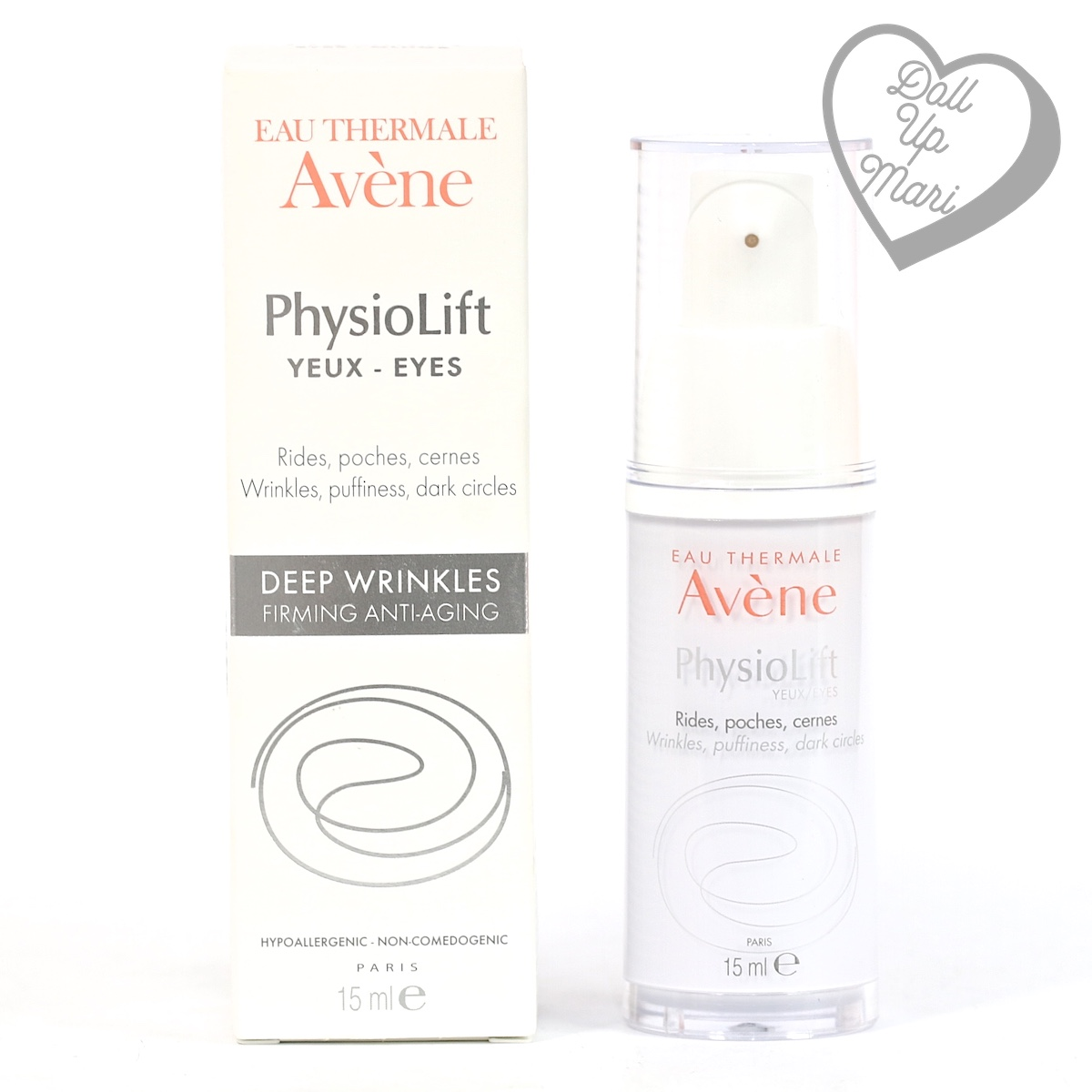 pack shot of Avène PhysioLift Eye Contour Cream
