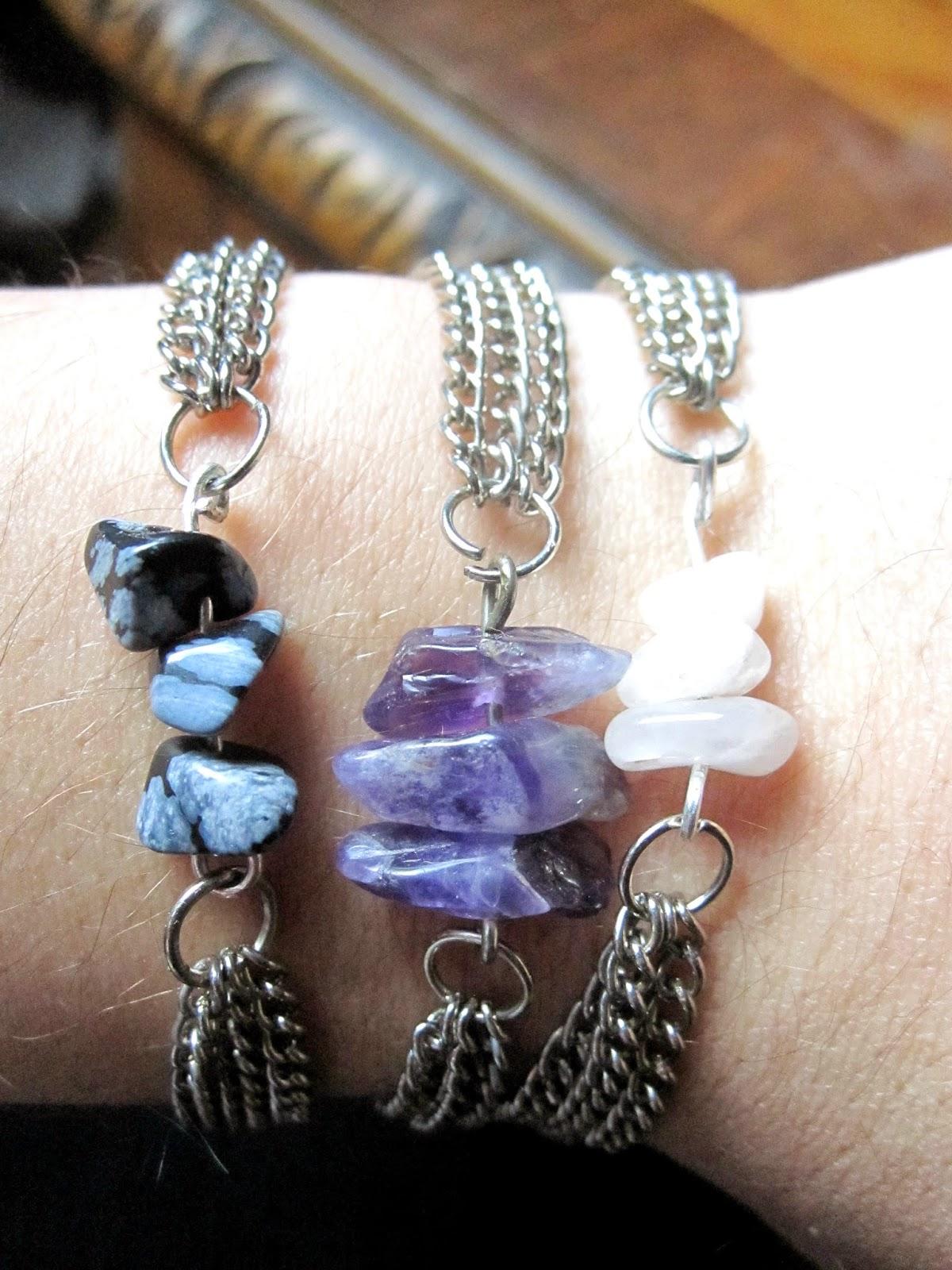 El arte de las cosas nimias diy hay tus propias pulseras - Bisuteria para hacer en casa ...